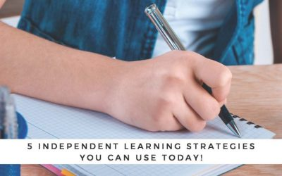 5 Independent Learning Strategies You Can Use Today