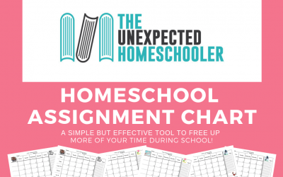Homeschool Assignment Chart | A Simple but Effective Tool