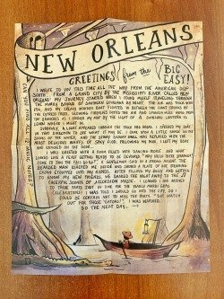 Letters from Afar- New Orleans