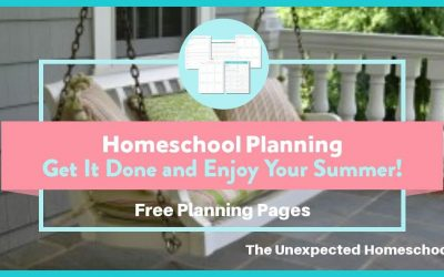Homeschool Planning- Do It and Forget It!