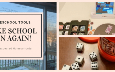 Homeschool Tools- How to Add Fun to Your Day