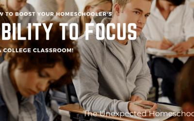 How to Boost Homeschooler's Ability to Focus in a College Classroom