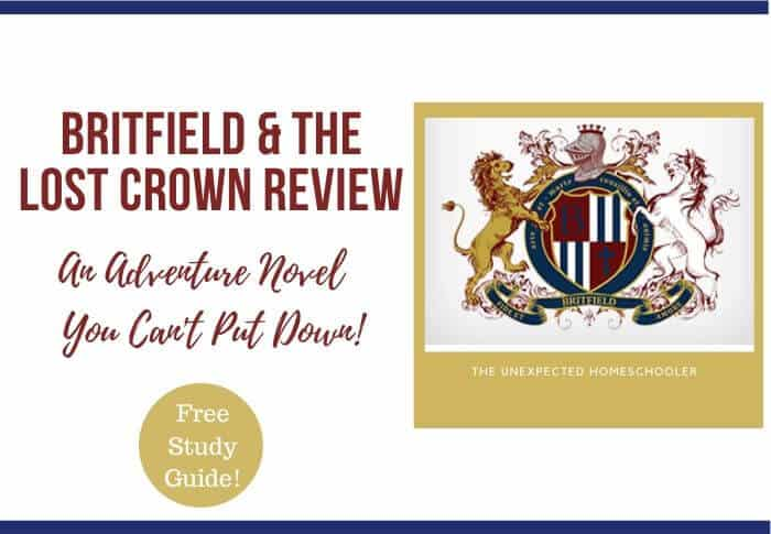 Adventure Novel- Britfield & the Lost Crown