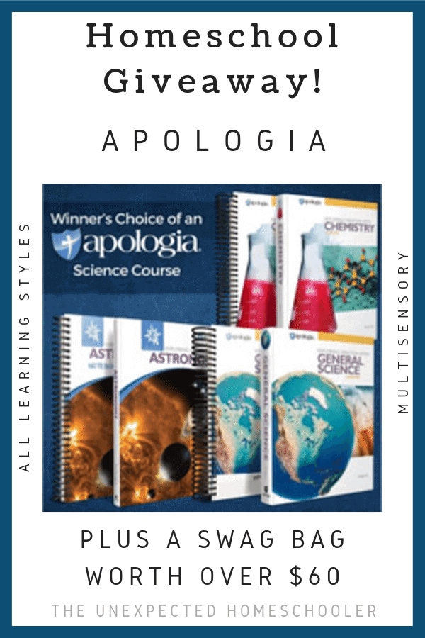 Apologia Science Giveaway
