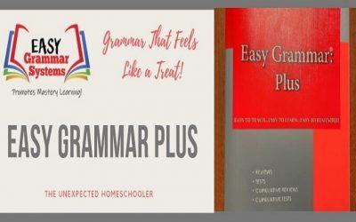 Grammar That Feels Like a Treat- Easy Grammar Plus {Review}