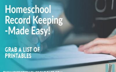 Homeschool Record Keeping- How to Save Time!