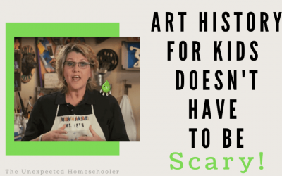 Art History for Kids Doesn't Have to Be Scary! {HIGASFY Art History Video Series Review}
