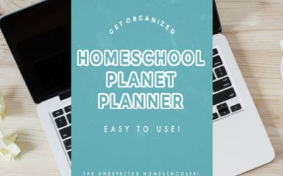 Homeschool Planet Planner-It's Exactly What You've Been Searching For!