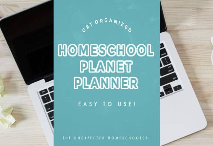 Homeschool Planet Planner