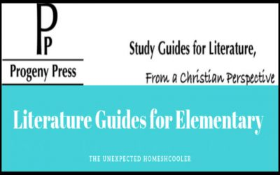 Literature Study Guides for Elementary {Progeny Press Review}