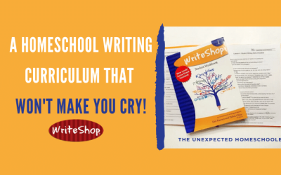 A Homeschool Writing Curriculum That Won't Make You Cry