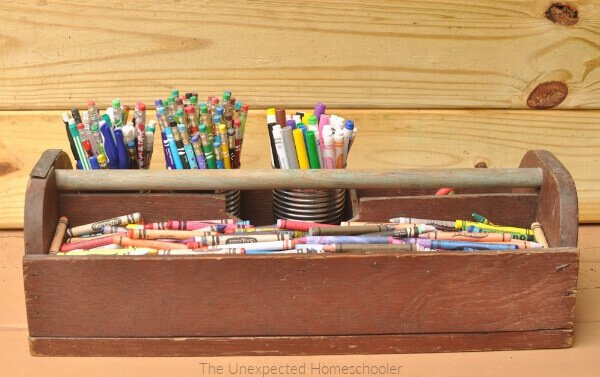 Organize School Supplies