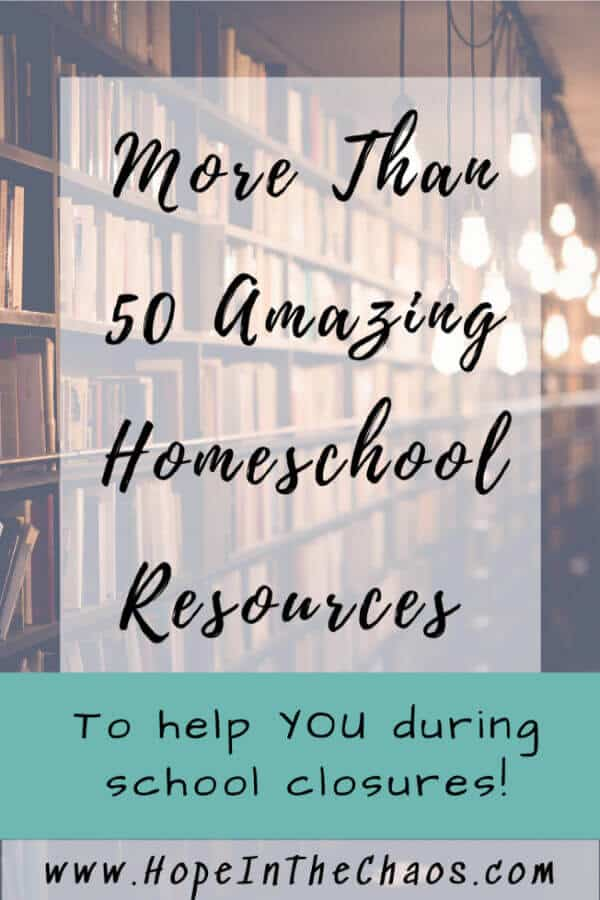 Amazing Homeschool Resources