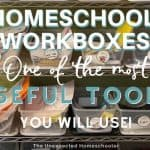 Homeschool Workboxes
