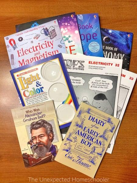 BookShark Science Books