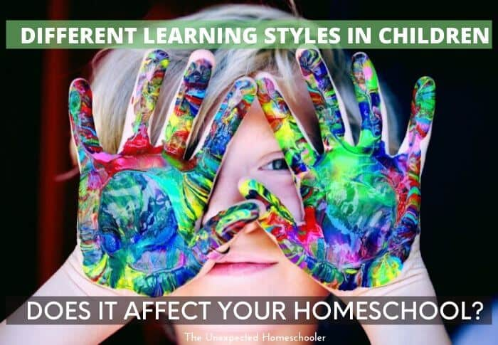Different Learning Styles in Children