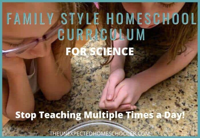 Family Style Homeschool Curriculum