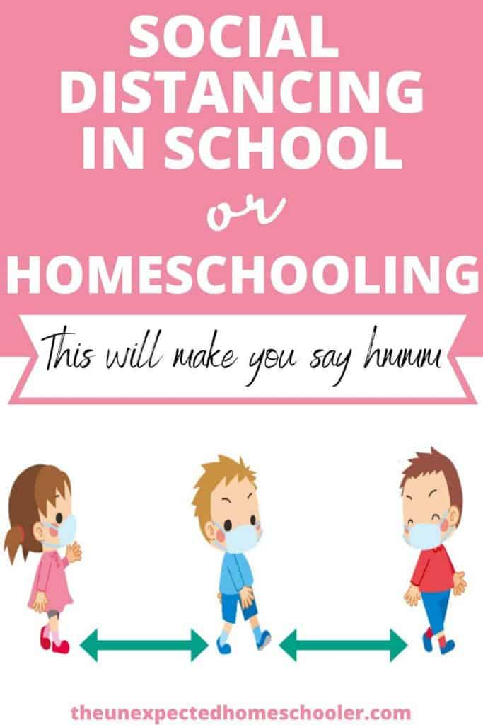 Social distancing in school