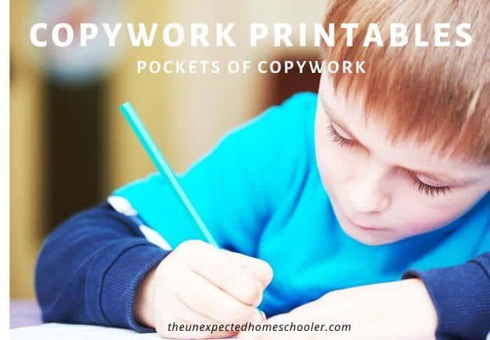 Copywork Printables