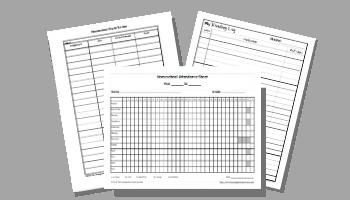 Homeschool Record Keeping Printables