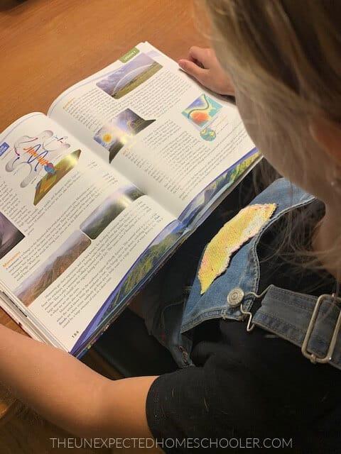 child-reading-Apologia-textbook